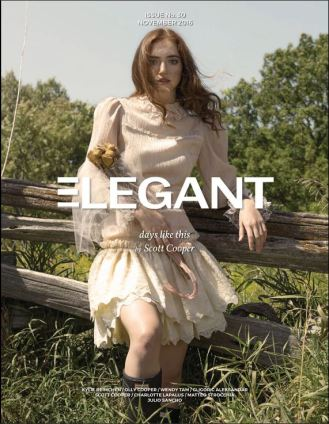 As seen in Elegant Magazine